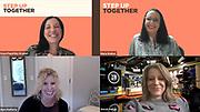 Step Up Founder Kaye Popofsky Kramer, Maria Walker, Barri Rafferty, Wendi Sturgis