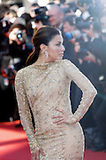 Eva Longoria attends the Premiere of 'Le Passé' (The Past) at The 66th Annual Cannes Film Festival at Palais des Festivals on May 17, 2013 in Cannes, France