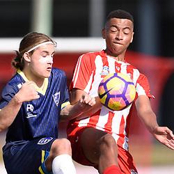 6th August 2017 - NPLQLD u18 Boys RD20: Olympic FC v Gold Coast City