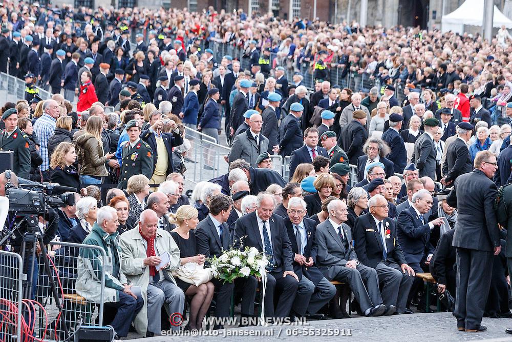 NLD/Amsterdam/20150504 - Dodenherdenking 2015 Amsterdam,