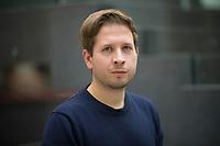 DEU, Deutschland, Germany, Berlin, 24.11.2020: Portrait von Kevin Kühnert (SPD), Stellv. Parteivorsitzender der SPD und Bundesvorsitzender der Jusos.