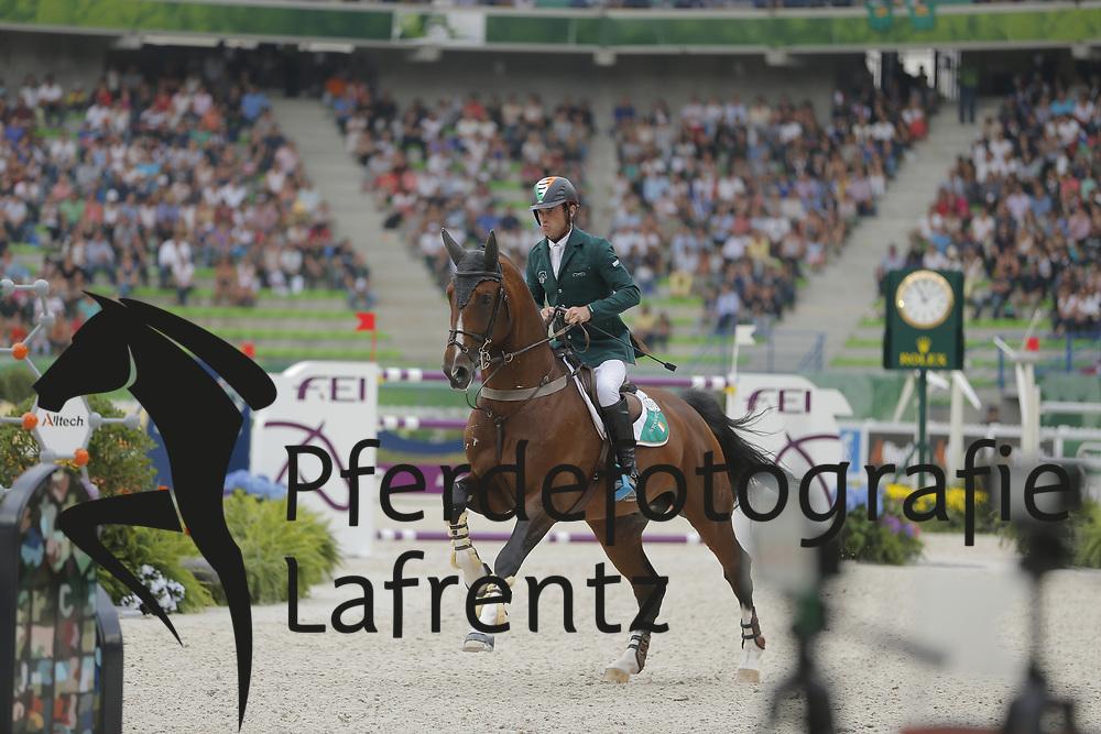 Lynch, Denis, All Star 5<br /> Normandie - WEG 2014<br /> Springen - Finale III<br /> © www.sportfotos-lafrentz.de/ Stefan Lafrentz