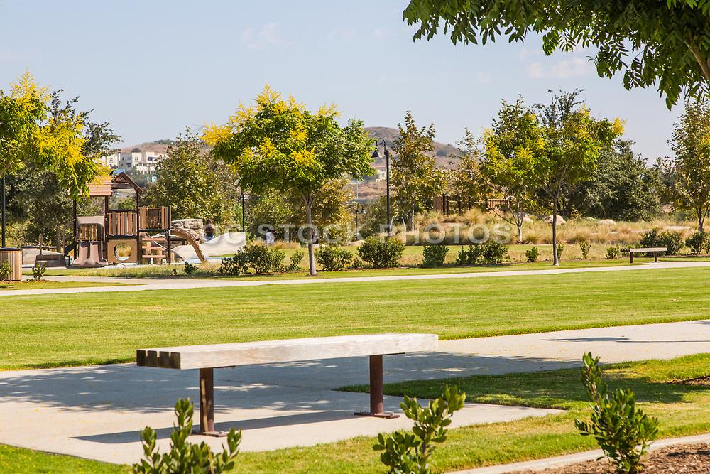 Children's Playground Structure at Sendero Field Park Rancho Mission Viejo