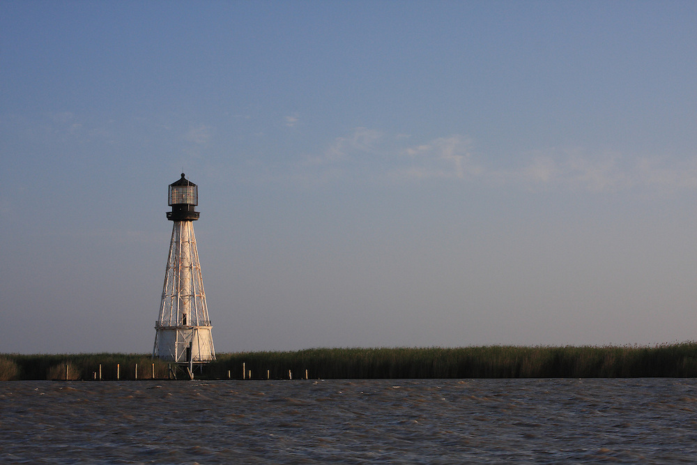 Port Eads Lighthouse at Sunset