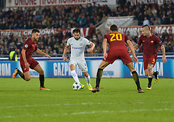 October 31, 2017 - Rome, Italy - Cesc Fabregas during the Champions League football match A.S. Roma vs Chelsea Football Club at the Olympic Stadium in Rome, on october 31, 2017. (Credit Image: © Silvia Lore/NurPhoto via ZUMA Press)