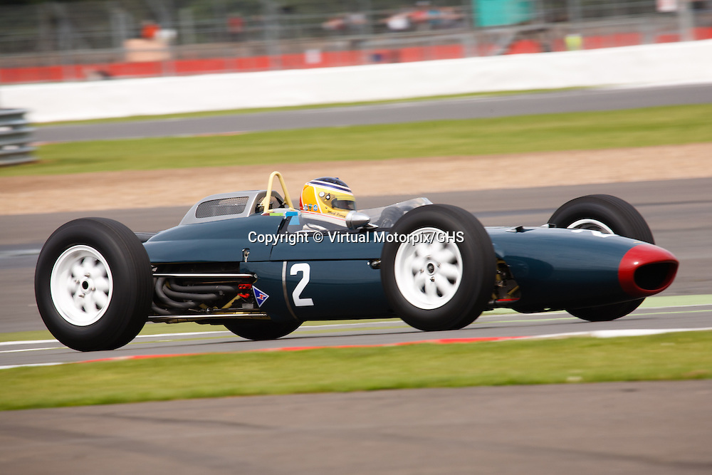 Lola Mk4 at Silverstone Classics 21/22 July 2012