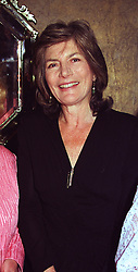 JILL, DUCHESS OF HAMILTON at a party in London on 16th April 1999.<br /> MRD 5 WORO