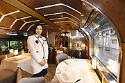 Train Suite – This is what the new Japanese luxury train looks like<br /> <br /> Here is the Train Suite Shiki-Shima, the new Japanese luxury train! In Japan, the train is by far the best means of transport: clean, fast, efficient and punctual. If there are already luxury trains in Japan, the Train Suite Shiki-Shima sets the bar very high with private suites, observation platforms, bars and gourmet restaurants. This train will consist of 17 suites, including beds, showers and toilets, and the most luxurious will even have bathtubs. The Train Suite Shiki-Shima by JR East will be launched in May 2017, and it will cost more than 2700€ per person for a 2-day trip!<br /> ©JR East/Exclusivepix Media