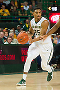 WACO, TX - DECEMBER 9: Al Freeman #25 of the Baylor Bears brings the ball up court against the Texas A&M Aggies on December 9, 2014 at the Ferrell Center in Waco, Texas.  (Photo by Cooper Neill/Getty Images) *** Local Caption *** Al Freeman