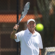 Terry Smith, Australia, in action in the 60 Mens Singles  during the 2009 ITF Super-Seniors World Team and Individual Championships at Perth, Western Australia, between 2-15th November, 2009.