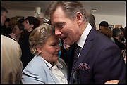 SANDI TOKSVIG;; ANTONY ANDREWS , Sandi  and Debbie Toksvig,  renewing their civil partnership vows at the Royal Festival Hall. London. 29 March 2014.