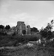 Holycross (Cistercian) Abbey, River Suir, Tipperary.02/09/1953