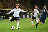 Julian Brandt of Germany shoots at goal during the International Friendly match between Germany and England at Signal Iduna Park, Dortmund, Germany on 22 March 2017. Photo by Phil Duncan.