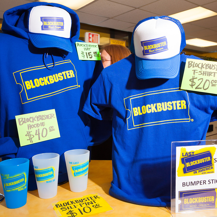 The last remaining Blockbuster Video store in Bend Oregon