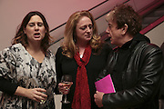 ALEXANDRA SHULMAN, CAMILLA LOWTHER AND NICKY HASLAM, Face of Fashion private view. National Portrait Gallery. London. 12 February 2007.  -DO NOT ARCHIVE-© Copyright Photograph by Dafydd Jones. 248 Clapham Rd. London SW9 0PZ. Tel 0207 820 0771. www.dafjones.com.