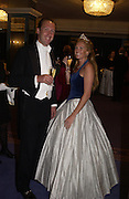 Simon Thomson and Nina-Louise Thorp, The Royal Caledonian Ball 2004. Grosvenor House, 21 May 2004. ONE TIME USE ONLY - DO NOT ARCHIVE  © Copyright Photograph by Dafydd Jones 66 Stockwell Park Rd. London SW9 0DA Tel 020 7733 0108 www.dafjones.com