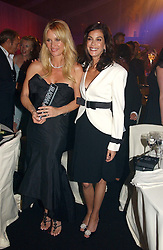 Left to right, NICOLETTE SHERIDAN and TERI HATCHER at the 2006 Glamour Women of the Year Awards 2006 held in Berkeley Square Gardens, London W1 on 6th June 2006.<br /><br />NON EXCLUSIVE - WORLD RIGHTS