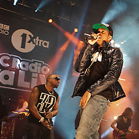 Chipmunk  performing on the opening night of the BBC 1Xtra Live tour at Manchester's O2 Apollo, 2011-11-28