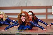Photo of three dancers at the Dublin Irish Festival in Dublin, Ohio.