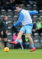 Coventry City's Marc McNulty warms up before kick off
