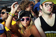 People dance at the Spring Awakening music festival Saturday, June 16, 2012 at Soldier Field.