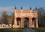 Dowspuda. Ruiny pałacu Paca