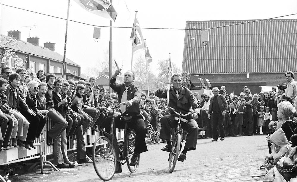 Koninginnedag in Ammerstol, 1978.