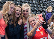 Out & About at Investec London Cup - Day One, Lee Valley Hockey & Tenis Centre, London, UK on 09 July 2014. Photo: Simon Parker