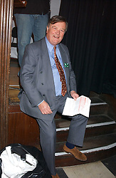 KENNETH CLARKE MP at the annual Parliamentary Palace of Varieties in aid of Macmillan Cancer Relief at St.Johns, Smith Square, London on 2nd February 2006. <br /><br />NON EXCLUSIVE - WORLD RIGHTS