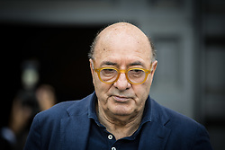 June 22, 2017 - Rome, Lazio, Italy - Rome Italy June 22 Dante Ferretti attends during  The Carla Fendi Funeral At Chiesa degli Artisti on June 22,2017 in Rome. (Credit Image: © Andrea Ronchini/NurPhoto via ZUMA Press)