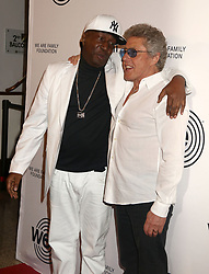 April 27, 2018 - New York City, New York, U.S. - Hip hop artist GRANDMASTER FLASH and ROGER DALTREY from the band 'The Who' attend the 2018 We Are Family Foundation Celebration Gala held at the Hammerstein Ballroom. (Credit Image: © Nancy Kaszerman via ZUMA Wire)