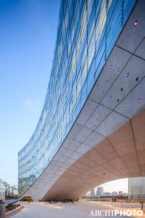 Snøhetta • Le Monde Group Headquarters, Paris