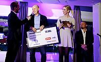 Fotball, 25. november 2018 , Fotballfesten , Norsk Toppfotball , <br /> <br /> årest lag i Eliteserien , administrativt , Sarpsborg , her ved styreleder , Cato Haug