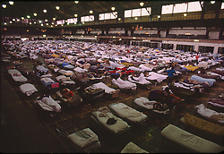 Lagest homeless shelter in NYC, 30/03/1992