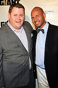 Jeff Marcanzzo and Emil Wilbekin at The Giant Magazine Party, celebrating cover girl Kimora Lee Simmons and new Editor-in-Chief Emil Wilbekin, the award-winning editor as he unveils his debut issue.