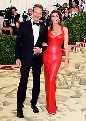 Rande Gerber and Cindy Crawford attending the Metropolitan Museum of Art Costume Institute Benefit Gala 2018 in New York, USA.