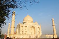 Inde, Province de l'Uttar Pradesh, Agra, le Taj Mahal. // India, Uttar Pradesh province, Agra, the Taj Mahal.