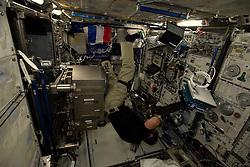 French cosmonaut Thomas Pesquet, takes photos on board International Space Station, on November 28, 2016. Photo by ESA via Balkis Press/ABACAPRESS.COM