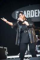 GABRIELLE live at the Pub in the Park's drive in Garden Party Henley photo by Brian Jordan
