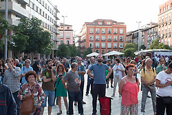 June 2, 2017 - Madrid, Spain - Dozens of people comes to the Anti-CETA march, some MEP comes too. (Credit Image: © Jorge Gonzalez/Pacific Press via ZUMA Wire)