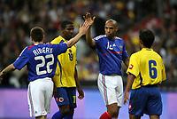 Fotball<br /> Frankrike v Colombia<br /> Foto: Dppi/Digitalsport<br /> NORWAY ONLY<br /> <br /> FOOTBALL - FRIENDLY GAME 2007/2008 - FRANCE v COLOMBIA - 03/06/2008 - FRANCK RIBERY / THIERRY HENRY (FRA)