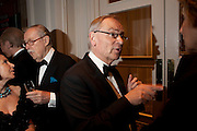 SIR ALAN WHICKER; LORD JEFFREY ARCHER, 80th anniversary gala dinner for the FoylesÕ Literary Lunch. Ballroom. Grosvenor House Hotel. Park Lane. London. 21 October 2010. -DO NOT ARCHIVE-© Copyright Photograph by Dafydd Jones. 248 Clapham Rd. London SW9 0PZ. Tel 0207 820 0771. www.dafjones.com.<br /> SIR ALAN WHICKER; LORD JEFFREY ARCHER, 80th anniversary gala dinner for the Foyles' Literary Lunch. Ballroom. Grosvenor House Hotel. Park Lane. London. 21 October 2010. -DO NOT ARCHIVE-© Copyright Photograph by Dafydd Jones. 248 Clapham Rd. London SW9 0PZ. Tel 0207 820 0771. www.dafjones.com.