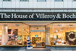 House of Villeroy & Boch store on famous Kurfurstendamm shopping street in Berlin, Germany.