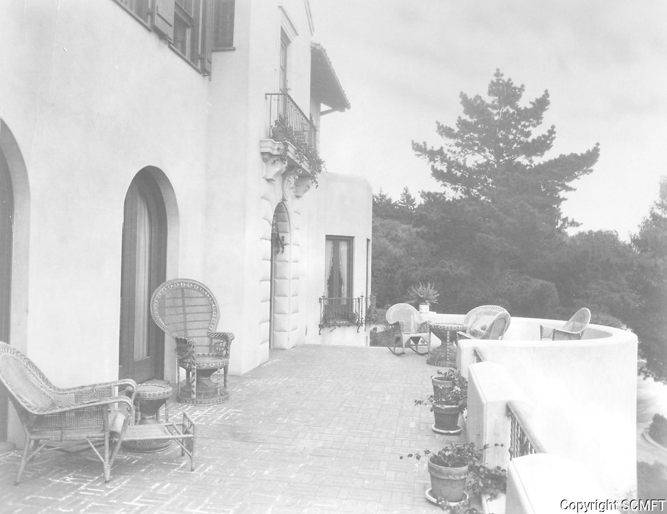 1925 Front porch at 1847 Camino Palmero