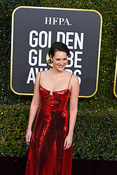 January 6, 2019 - Los Angeles, California, U.S. - Phoebe Waller-Bridge during red carpet arrivals for the 76th Annual Golden Globe Awards at The Beverly Hilton Hotel. (Credit Image: © Kevin Sullivan via ZUMA Wire)