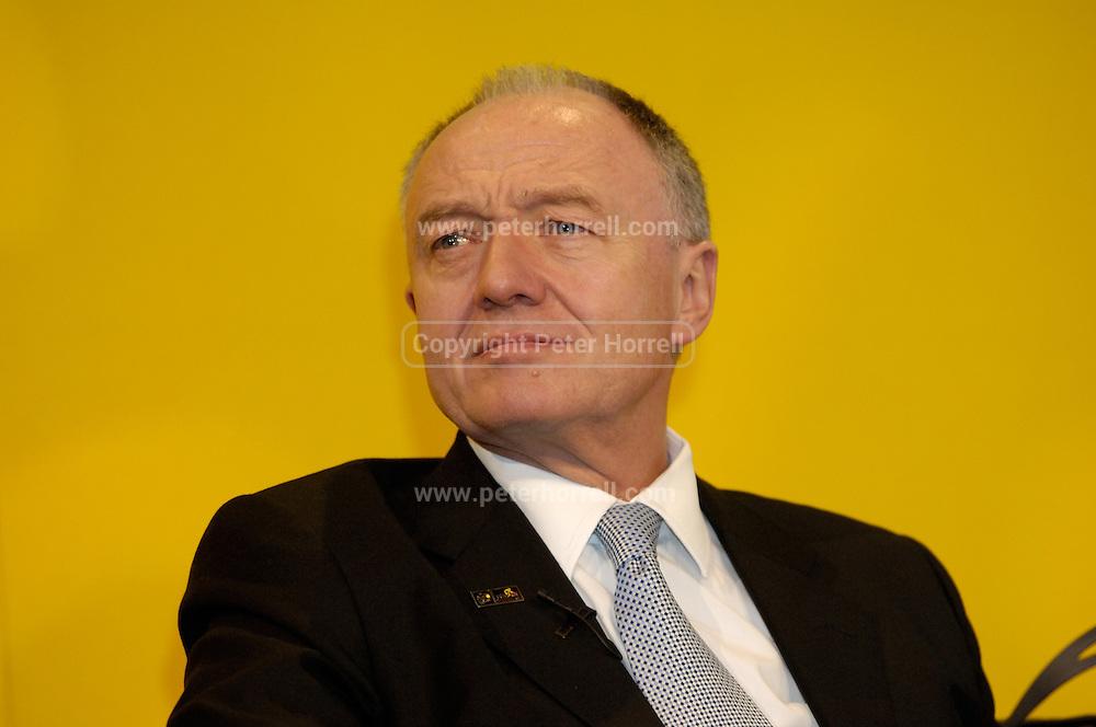 Ken Livingstone, Mayor of London.