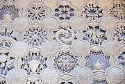 Armenia, Yerevan, Central City food Market, detail of the wall decoration