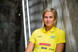 August 6, 2018 - Berlin, GERMANY - 180806 Bianca Salming of Sweden poses for a portrait during a press event ahead of the European Athletics Championships on August 6, 2018 in Berlin..Photo: Vegard Wivestad Grøtt / BILDBYRÃ…N / kod VG / 170194 (Credit Image: © Vegard Wivestad GrØTt/Bildbyran via ZUMA Press)
