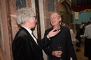 SIR PETER STOTHARD; MICHAEL LANDY,  RA Annual dinner 2018. Piccadilly, 5 June 2018.