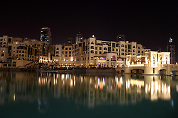 June 28, 2017 - Dubai, Dubai, China - Night scenery of Dubai. (Credit Image: © SIPA Asia via ZUMA Wire)
